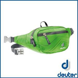ドイター ベルト 1 (スプリング/アンスラサイト) deuter Belt I ウエスト ポーチ D39004-2431|sas-ad