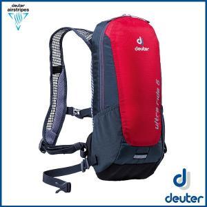ドイター ウルトラライド 6  (ファイヤー/グレー) deuter Ultra Ride 6 バックパック リュック D4200816-5412|sas-ad