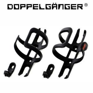 ドッペルギャンガー マルチユースボトルケージ DBC418-BK 2個セット(DOPPELGANGER DBC418-BK)|sas-ad