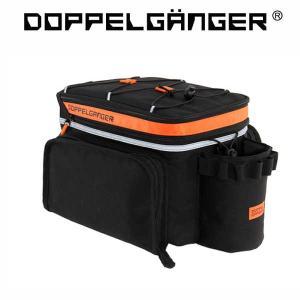 ドッペルギャンガー リアキャリアバッグ DBP318-BK(DOPPELGANGER DBP318-BK)|sas-ad