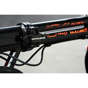 折り畳み自転車 ドッぺルギャンガー 16インチアルミ折りたたみ自転車6段変速付 104 ブラックバレット II  (BK/OR) (DOPPELGANGER 104-DP blackbullet II)|sas-ad|04