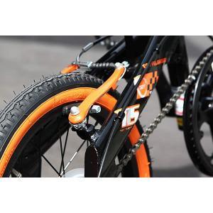 折り畳み自転車 ドッぺルギャンガー 16インチアルミ折りたたみ自転車6段変速付 104 ブラックバレット II  (BK/OR) (DOPPELGANGER 104-DP blackbullet II)|sas-ad|06