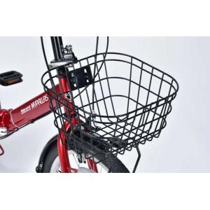 折り畳み自転車 20インチ6段変速オートライト付き折りたたみ自転車 マイパラスM-204MERRY  (レッド) (MYPALLAS M-204MERRY) 折畳み自転車|sas-ad|04