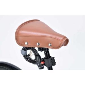 折り畳み自転車 20インチ6段変速オートライト付き折りたたみ自転車 マイパラスM-204MERRY  (レッド) (MYPALLAS M-204MERRY) 折畳み自転車|sas-ad|06