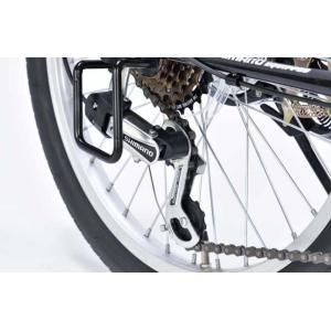 折り畳み自転車 20インチ6段変速オートライト付き折りたたみ自転車 マイパラスM-204MERRY  (レッド) (MYPALLAS M-204MERRY) 折畳み自転車|sas-ad|09