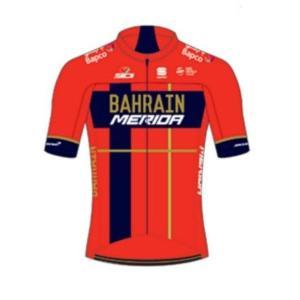 BAHRAIN MERIDA TEAM Summer  ジャージ / Mサイズ バーレーン メリダ チーム サマージャージ Sportful サイクリング サイクル ウェア|sas-ad