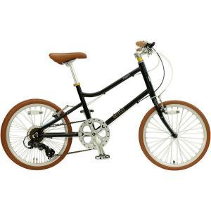 ミニベロ OSSO 18E310MV-AL emma (マットブラック) オッソ 18 E310MV AL エマ 20インチ 小径自転車 sas-ad