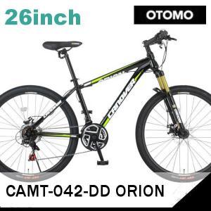 MTB OTOMO CANOVER CAMT-042-DD ORION (ブラック 33732) (カノーバ CAMT-042-DD オリオン) マウンテンバイク|sas-ad