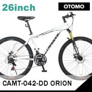 MTB OTOMO CANOVER CAMT-042-DD ORION (ホワイト 33733) (カノーバ CAMT-042-DD オリオン) マウンテンバイク|sas-ad