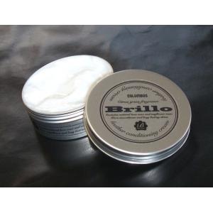 プルプルとしたジェル状クリームで皮革をケア。 シトラスグリーンの香りが心地よい、べたつかない皮革用ク...