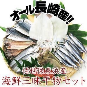 佐世保東浜産津田水産 海鮮三昧干物セット 長崎県産魚種6種の詰め合わせ