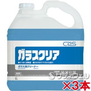 【送料無料】シーバイエス ガラスクリア リキッド  5L 3本セット satiwel-y