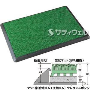 【送料無料】【直送専用品】テラモト 除菌マット 695×995mm MR-120-300-0|satiwel-y
