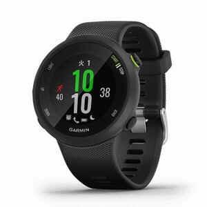 ガーミン GPSランナーズウォッチ Fore Athlete45 フォアアスリート45 1年間保証付き 光学式心拍計 距離 ラップ ペース カロリー 軽量|satoh-sports