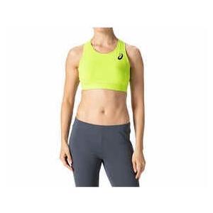 レディス 54%OFF SALE ブラトップ ランニング トレイルランニング アシックス 吸汗速乾素材 走りやすい 蛍光イエロー ブラック S  L|satoh-sports
