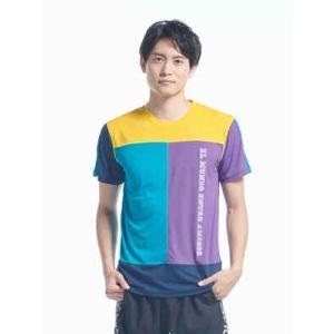 スボルメ メンズTシャツ 29%OFF SALE ランニングウェア 吸汗速乾素材 軽量 UVカット メンズM L 7201-06300Y ウォーキング 練習着 洗い替えに 普段着|satoh-sports