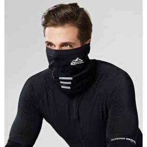 ランニング時のマスクとして使える フェイスマスク サラッと 冷感素材 調節ゴム付き 飛沫防止 息苦しくない シンプルデザイン すぐ乾く|satoh-sports