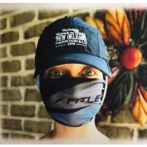 ランニング時のマスクとして使える フィットレティック フェイスマスク マルチスカーフ ネックウォーマー 頭に 通気性 暑すぎない 何通りにも 飛沫防止対策|satoh-sports