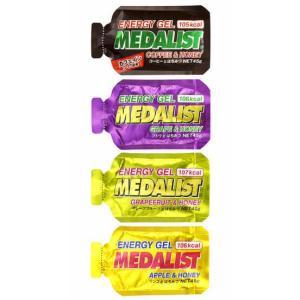 メダリストジェル エネルギー補給 はちみつ クエン酸 かみごたえのあるタイプ 腹持ちがよい|satoh-sports