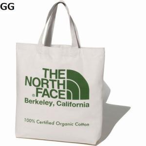 ザ、ノースフェイス  TNFオーガニックコットントート TNF Organic Cotton Tote NM81971 ロゴ入り コットン エコバッグ シンプル ナチュラル 肩掛け|satoh-sports