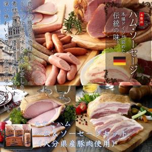 送料込 みやこハム ハム&ソーセージセット(大分県産豚肉使用)|satou