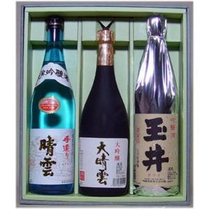 日本酒 お中元 ギフト 晴雲 超特選セット satozake