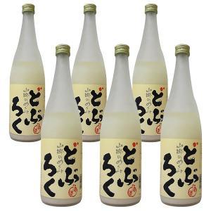 TVで紹介 贈り物 ギフト 山郷のめぐみ どぶろく 600ml 6本セット 日本酒 酒蔵から直送 satozake