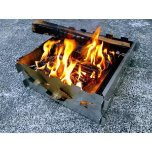 「野良プレート」焚き火サークル/焚き火台 ※1枚単位での販売です。4枚以上を組合せてお使い下さい。 日本製|satozaki-material|08