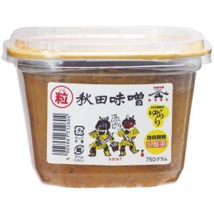 地元秋田でお味噌といったらこれ。一番したしまれているまさにお袋の味  秋田香酵母  ゆらら