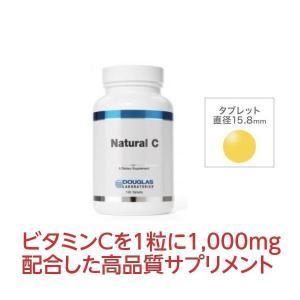 ダグラスラボラトリーズ ナチュラルC 100粒〔7920-100〕1粒に1000mg配合 ローズヒップ由来 自然素材 高品質ビタミンC|satuma