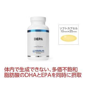 ダグラスラボラトリーズ DEPA 100粒 DHA DPA 必須脂肪酸 サプリメント 健康食品 栄養補助食品 〔7980-100〕4562165481842|satuma