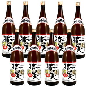 奄美酒類 奄美 30度 1800ml×9本セット 奄美黒糖焼酎 送料無料|satumagura