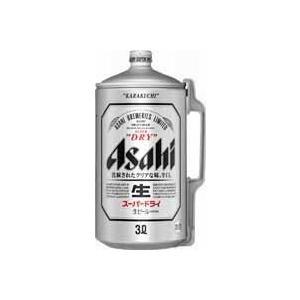 【送料無料】アサヒ スーパードライ 3000ml×6本(1ケース)|satumagura