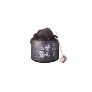 軸屋酒造 紫尾の露 かめ仕込 甕壺 25度 3600ml 薩摩芋焼酎 送料無料|satumagura