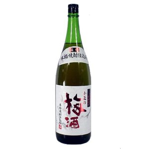 小正醸造 小正の梅酒 本格焼酎仕込 14度 1800ml 鹿児島梅酒|satumagura