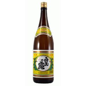 鹿児島芋焼酎 白玉醸造 白玉の露 25度 1800ml|satumagura|02