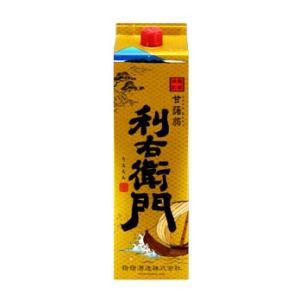 指宿酒造 利右衛門 25度 1800mlパック 薩摩芋焼酎|satumagura