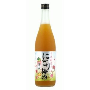 山元酒造 にごり梅酒梅太夫 芋焼酎造り梅酒 12度 720ml 鹿児島梅酒|satumagura