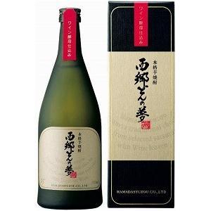 濱田酒造 西郷どんの夢 25度 720ml 化粧箱付 薩摩芋焼酎|satumagura