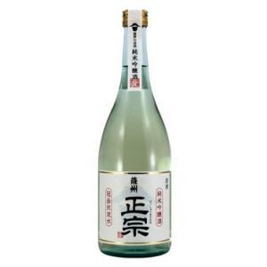 鹿児島清酒 薩摩金山蔵 薩州正宗 純米吟醸酒 15度 720ml|satumagura