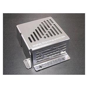 ●HPIサページSavage 21,25,X用アルミ燃料ケース保護ケース【シルバー】HSA-021/SI