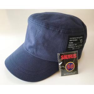 SAURUS ワークキャップ 50ピンバッジ セット|saurus-direct-shop