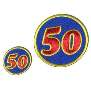 SAURUS 50ワッペン Sサイズ|saurus-direct-shop