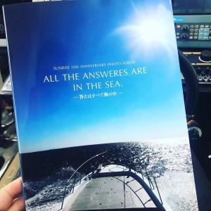 サンライズ 写真集 All The Answeres Are In The Sea 田代誠一郎 10周年記念フォトブック|saurusking