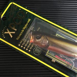 Xポッド メガバス color:WAGIN UGUI / MEGABASS XPOD 旧モデル 蔵出し新品|saurusking