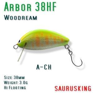 Arbor 38HF A-CH Woodream / アルボル チャート ハイフローティング ウッドリーム|saurusking