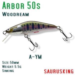Arbor 50s A-YM Woodream / アルボル ヤマメ シンキング ウッドリーム saurusking