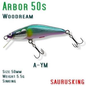 Arbor 50s A-MAY Woodream / アルボル 正影アユ シンキング ウッドリーム|saurusking