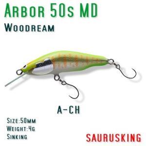 Arbor 50s MD A-CH Woodream / アルボル チャート シンキング ミディアムダイブ ウッドリーム|saurusking