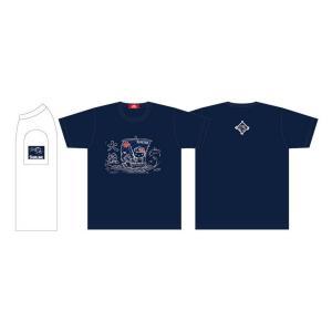 2018限定 ハローキティ Tシャツ (L) メトロブルー Hello Kitty T-Shirts by Sunline|saurusking
